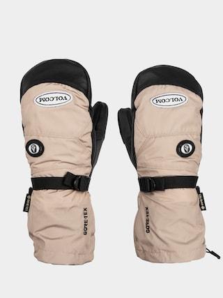 Volcom 91 Gore Tex Mitt Gloves (khaki)