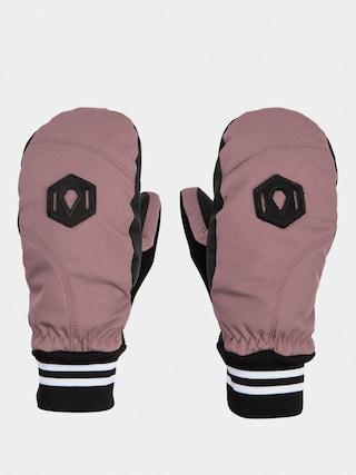 Volcom Bistro Mitt Gloves Wmn (rose wood)