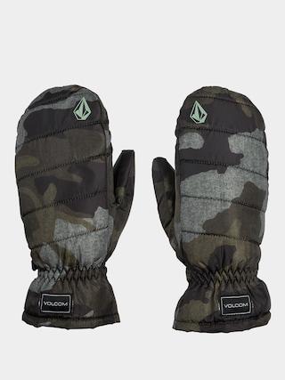 Volcom Puff Puff Mitt Gloves Wmn (service green)