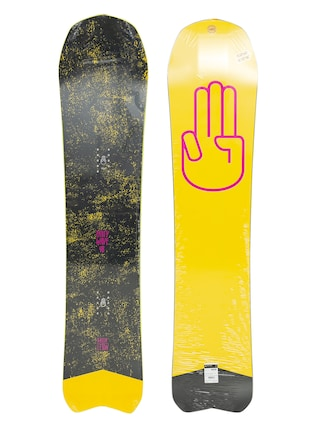 Bataleon Party Wave Snowboard (yellow/pink/black)