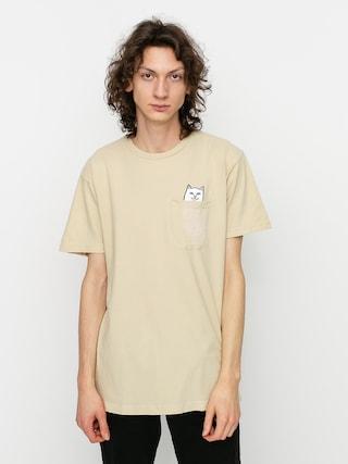 RipNDip Lord Nermal Pocket T-shirt (tan)