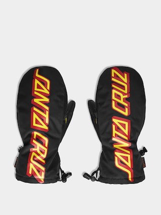 ThirtyTwo Santa Cruz Mitt Gloves (black/yellow)
