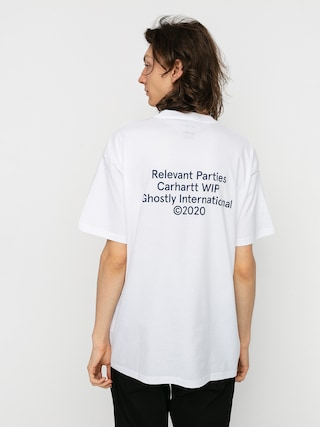 Carhartt WIP X Relevant Parties Ghostly T-shirt (white)