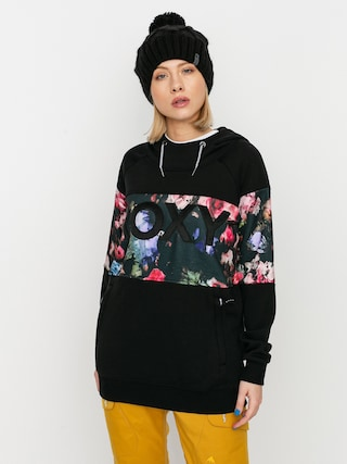 Roxy Liberty HD Active sweatshirt Wmn (true black blooming party)