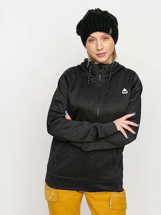 Burton Oak ZHD Active sweatshirt Wmn (true black heather)