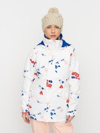 Burton Jet Set Snowboard jacket Wmn (stout white landscape floral)