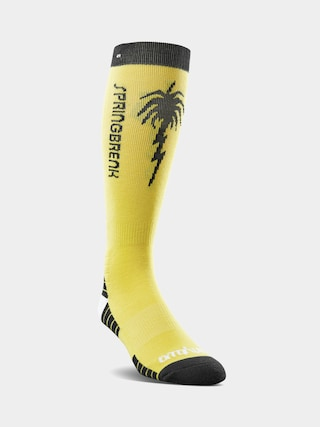 ThirtyTwo Spring Break Socks (light yellow)