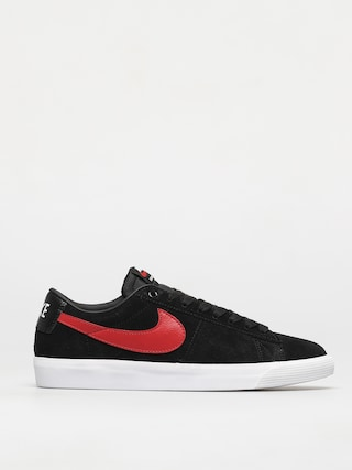 Nike SB Blazer Low Gt Shoes (black/university red black white)