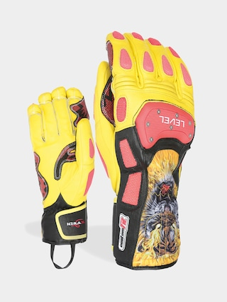 Level Sq Cf Gloves (red)