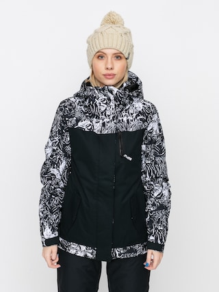 Roxy Jetty Block Snowboard jacket Wmn (true black tiger camo)