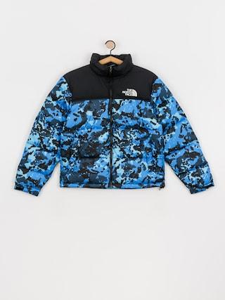 The North Face 1996 Retro Nuptse Jacket (clear lake blue himalayn camo print)