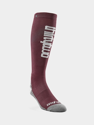 ThirtyTwo Double Socks Wmn (burgundy)