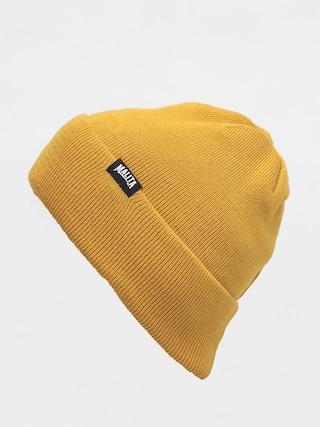 Malita Lumberjack Beanie (yellow/black)