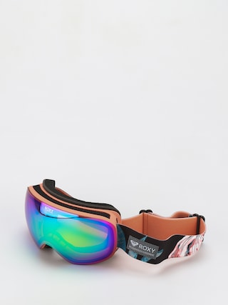 Roxy Popscreen Goggles Wmn (true black tropical day)