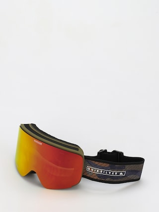 Quiksilver Switchback Goggles (military olive gps point)