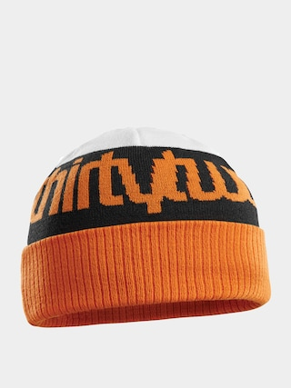 ThirtyTwo Double Beanie (white/orange)