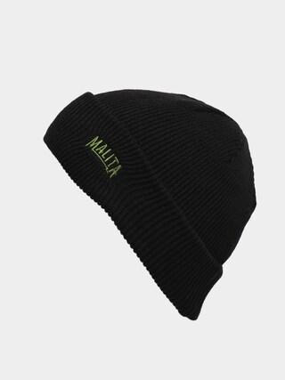 Malita Miner Beanie (black/green)