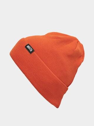 Malita Lumberjack Beanie (orange/black)