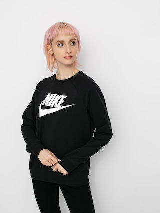 Nike Sportswear Rally Sweatshirt Wmn (black/white)