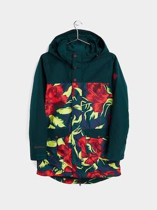 Burton Gore Tex Eyris Snowboard jacket Wmn (ponderosa pine/hibiscus pink oversized floral)