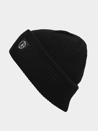 Polar Skate Double Beanie (black)