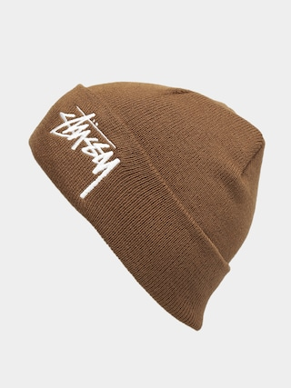 Stussy Big Stock Cuff Beanie (brown)