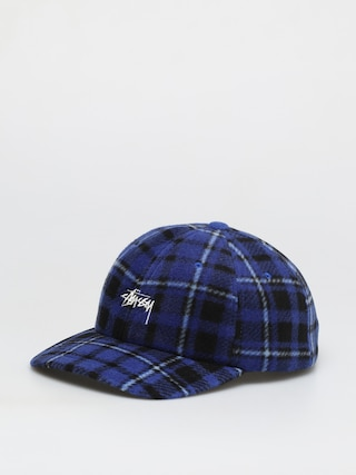 Stussy Stock Polar Fleece Low Pro ZD Cap (blue)