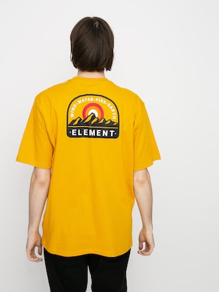 Element Stahl T-shirt (old gold)
