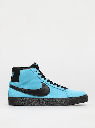 Nike SB Zoom Blazer Mid Shoes (baltic blue/black baltic blue white)