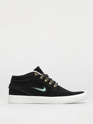 Nike SB Zoom Stefan Janoski Mid Premium Shoes (black/glacier ice black summit white)