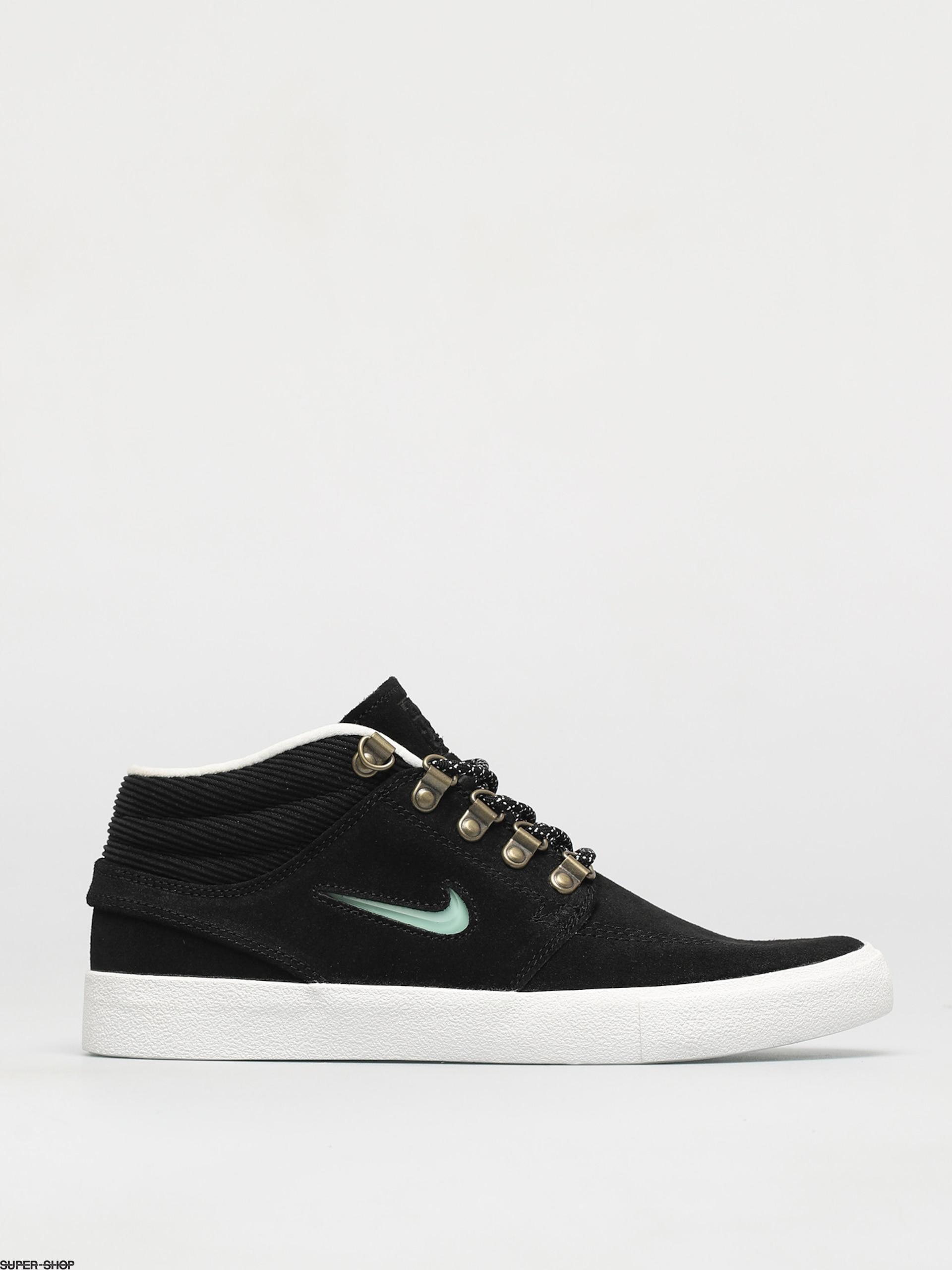 Nike SB Zoom Stefan Janoski Mid Premium Shoes (black/glacier ice black summit white)