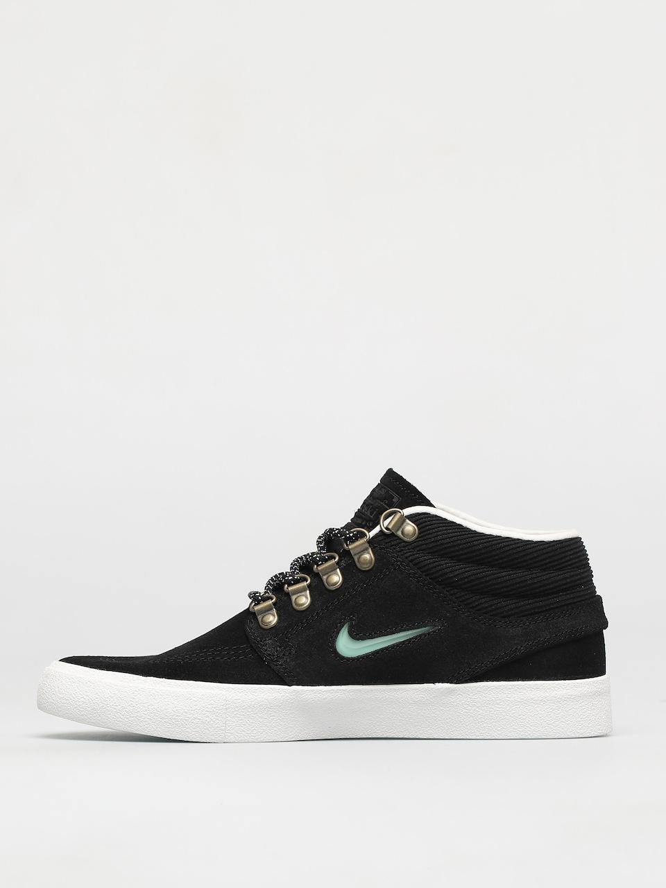 Nike SB Zoom Stefan Janoski Mid Premium Shoes (black/glacier ice ...