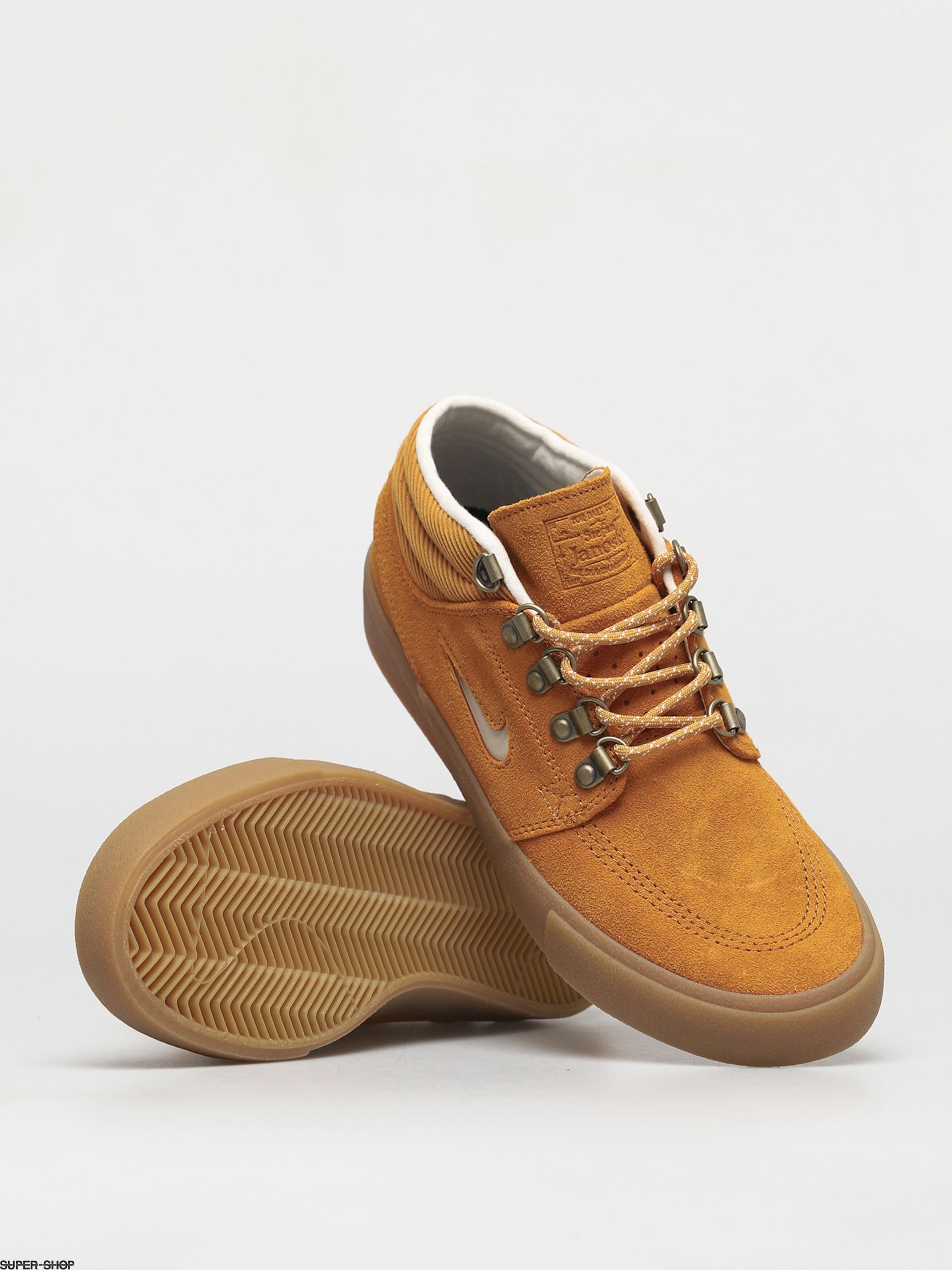Nike SB Zoom Stefan Janoski Mid Premium Shoes (chutney/white chutney gum light brown)