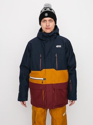 Picture Pure Snowboard jacket (dark blue camel)