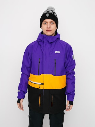 Picture Pure Snowboard jacket (purple yellow)