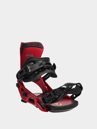 Flux DS Snowboard bindings (metallic red)
