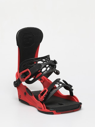 Union Force 5 Packs Snowboard bindings (red)