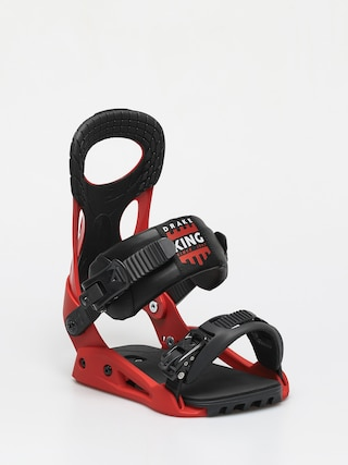 Drake King Smu Snowboard bindings (red/black)