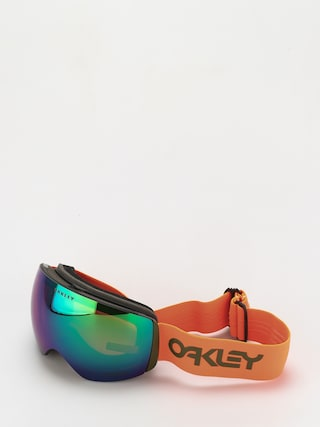 Oakley Flight Deck XL Goggles (factory pilot orange dark brush/prizm snow jade)