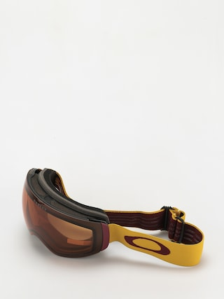 Oakley Flight Deck XM Goggles (mustard yellow grenache/prizm snow persimmon)