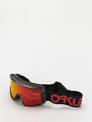 Oakley Line Miner XL Goggles (scotty james sig crystal black/prizm snow torch)