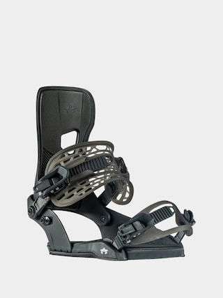 Rome Crux Snowboard bindings (black)