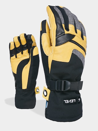 Level Ranger Leather Gloves (pk black)