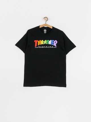 Thrasher Rainbow Mag T-shirt (black)