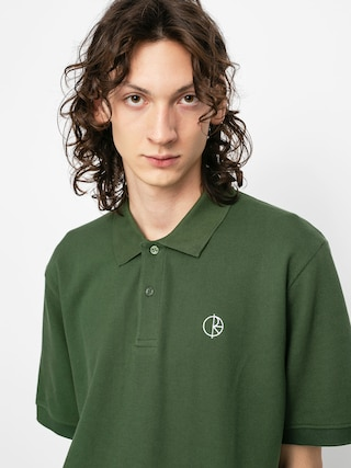 Polar Skate Pique Polo t-shirt (hunter green)