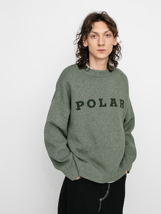 Polar Skate Polar Knit Sweater (green)