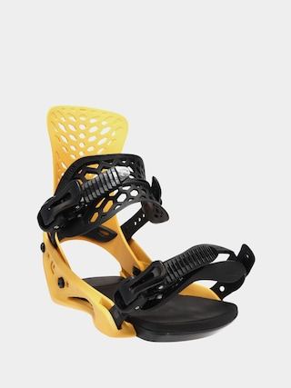 Flux PR Snowboard bindings (yellow)