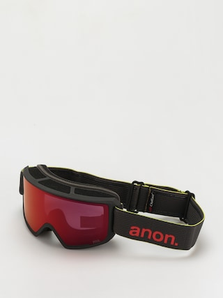 Anon M3 Mfi Goggles (black pop/perceive sunny red)