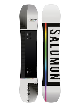 Salomon Huck Knife Snowboard (grey/black)