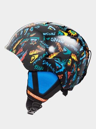 Quiksilver Slush Helmet (true black ski fun)